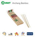 Machine oven baking bamboo skewers for party