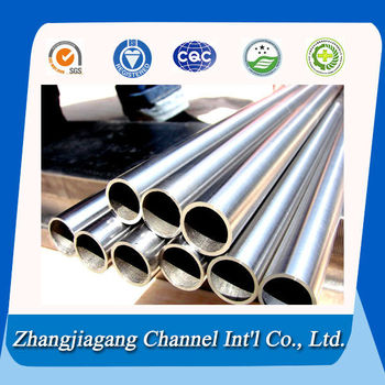 Thin wall seamless titanium tube for bike frame