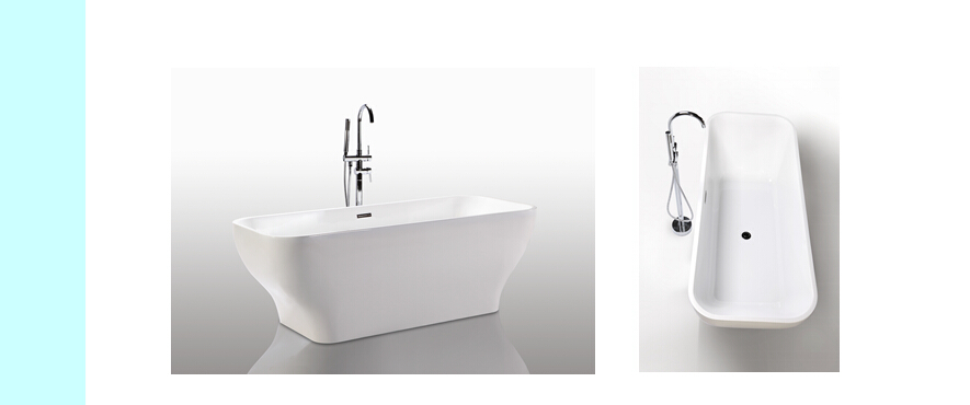 Modern CUPC Certificated Freestanding Bathtub JS-6829