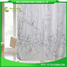 China Luxury European Style Shower Window Curtain
