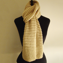 New style design soft knitted cheap custom made women long scarf
