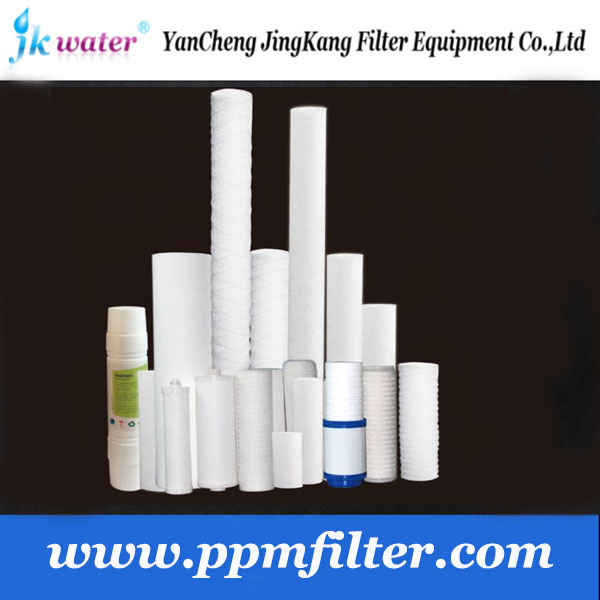 Factory price pp sediment cartridge filter/pp spun filter cartridge/sediment water filter cartridge