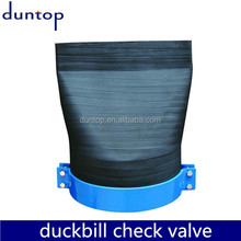 Easy Installation Rubber Duckbill Check Valve Manufactured in China