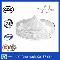 99% White Powder Food Additives L(+)-Tartaric acid tartaric acid chemical formula