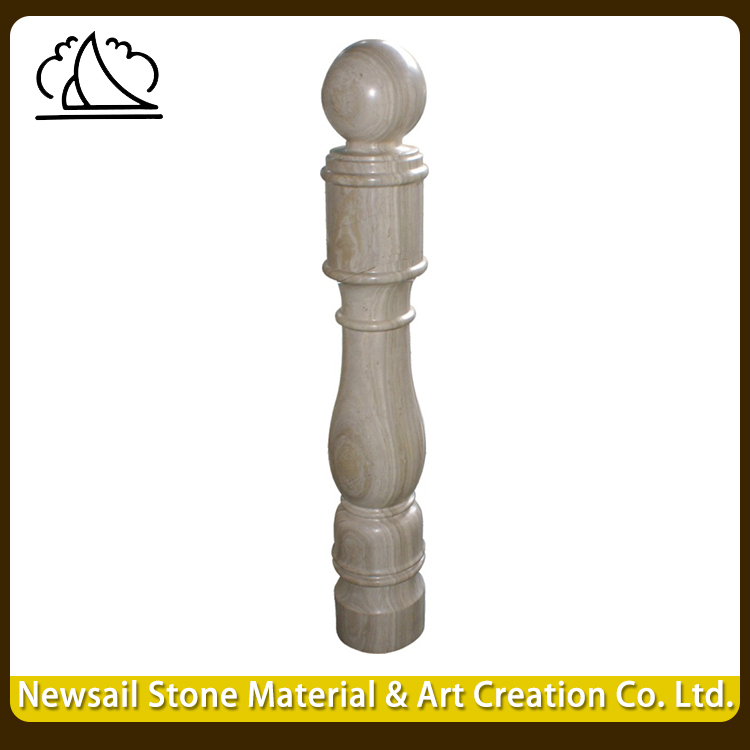 Yunfu Nutural Of Outdoor Marble Stone Baluster Stair Railing