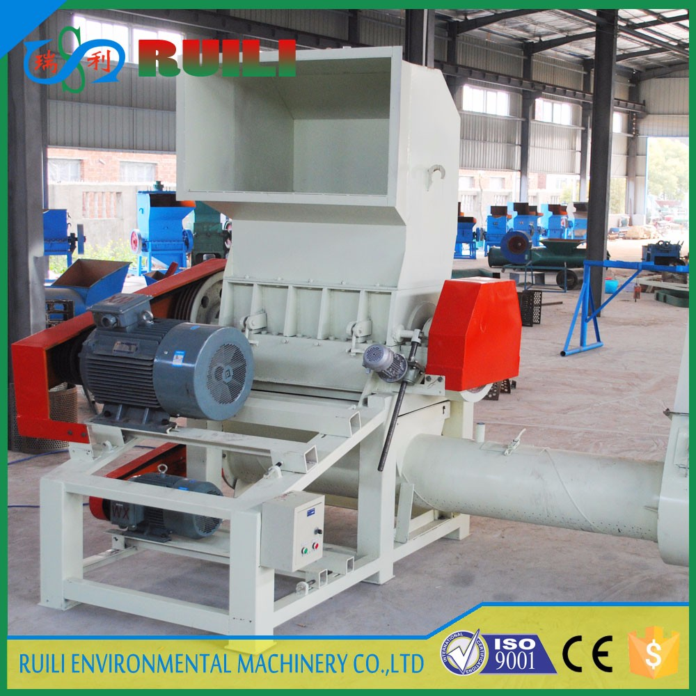 Recycle pp pe film bag plastic shredder crusher machine for washing line