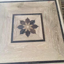 450x450 CM FSC CE Certified Art Design Oak Wood Parquet Flooring
