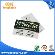 125khz PVC ID Card smart card with nfc chip PVC smart Card for Campus
