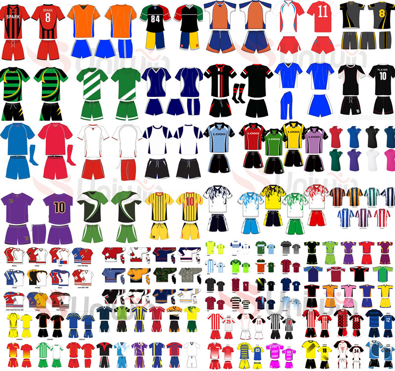 Custom design cheap sublimated soccer uniforms for teams