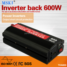 THA 600W power inverter has battery charge good quality for car and mobile home
