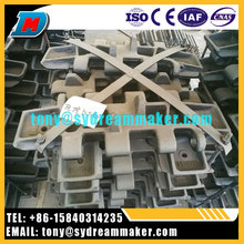 Top sale high quality excellent durable crawler crane track pad