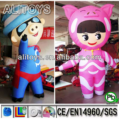 GGBond inflatable cartoon toys for kids