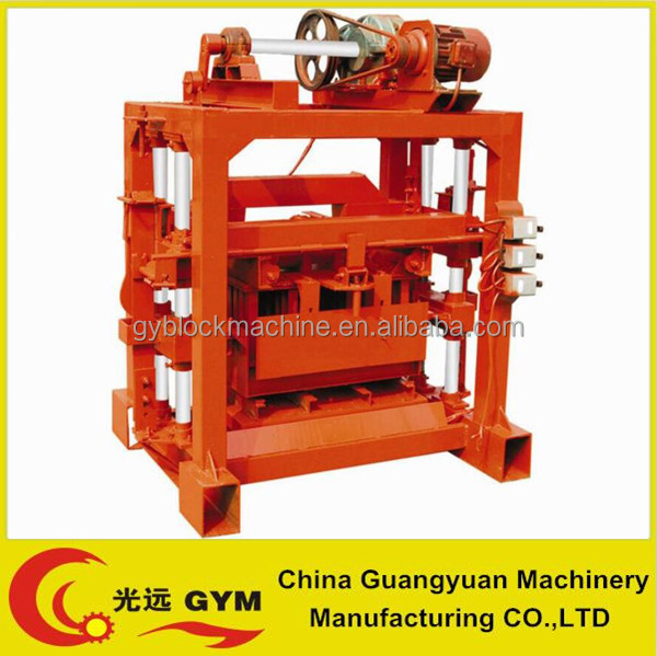 new premium manual concrete interlocking block making machinery for small business