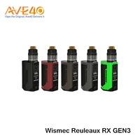 New vape Kit Products Express Bottom Feeder Mod Wismec Reuleaux RX GEN3 with Gnome TC Kit Wholesale