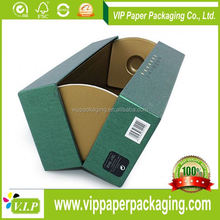 BOXES WITH CUSTOMIZED LOGO PAPER WINE GLASS CARDBOARD GIFT BOX