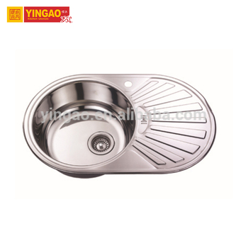 Commercial Home hand 304 stainless steel washing kitchen sink