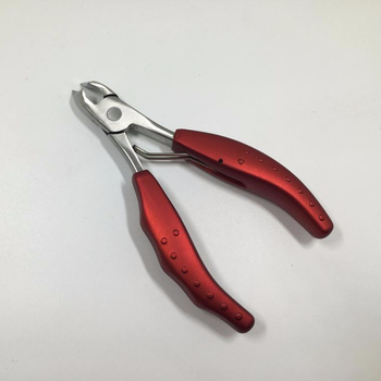 Rose Red Nail Cuticle Nippers Clipper Scissor Dead Skin Remover Manicure Nail Art Tool