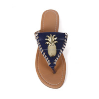 Wholesale Creative Beach Pineapple Slipper for Ladies