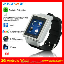 3G android watch mobile phone android watch cell phone