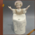 Lovely bear angel figurines wholesale porcelain statue