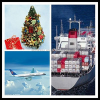 air shipping christmas decoration/gift from china
