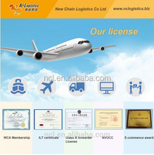 Amazon FBA air freight service China to USA