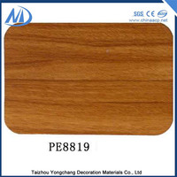 PE Coated Excellent flatness waterproof exterior wall siding panel
