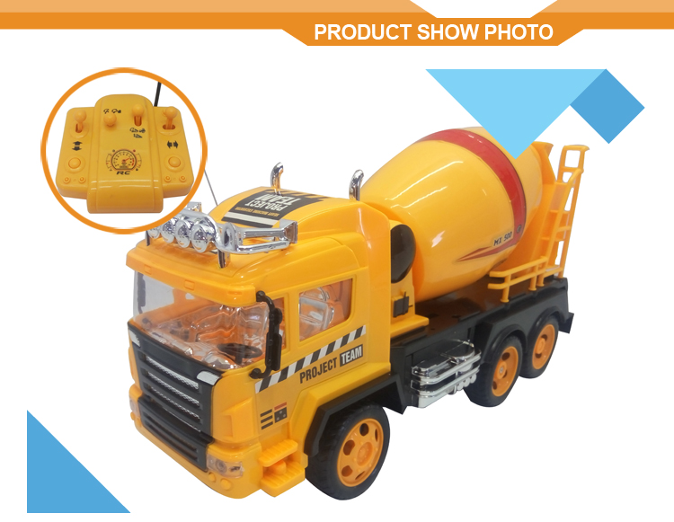 5CH radio control car with light RC excavator models for sale