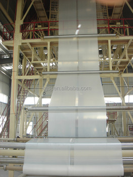 Greenhouse Film Plastic Cover Making Machine with High Output