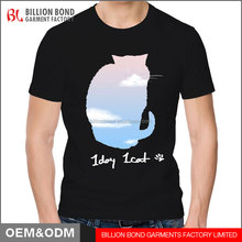 Short sleeve pantone kitty printed t shirt fitted men t shirt top selling men' s clothing 2017