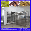 Hot air circulating dried fruit processing machine