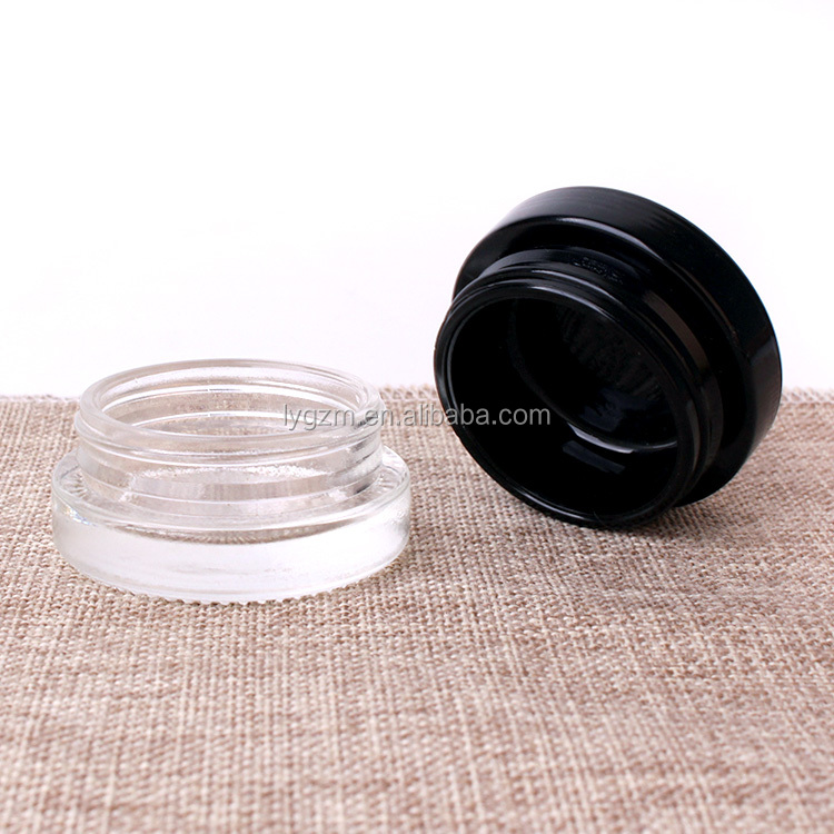 20ml child proof glass jar with child resistant lid for tobacco tar