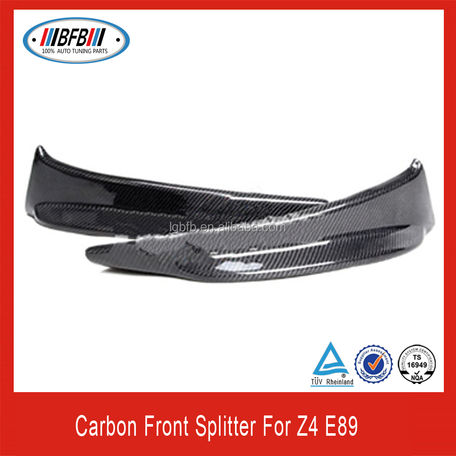 Bmw Z4 Tuning Parts: 2009-2012 Z4 E89 Carbon Fiber Splitter For Bmw Fit Z4