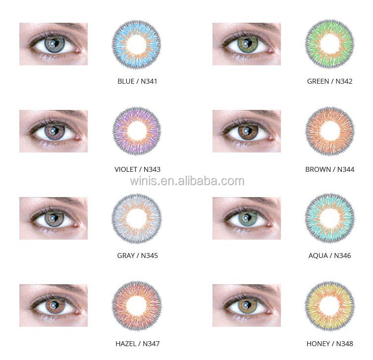 NEO Korea soft color contact lens 3 tone N34 by Semi Cast Molding available in stock hotsale now