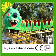 Happy electric toy roller coasters for outdoor playground