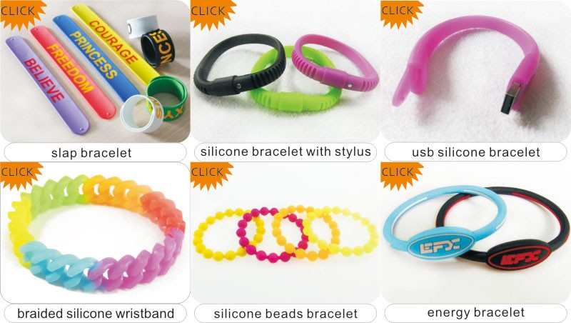 Leading custom silicone bracelet Manufacturers & Suppliers