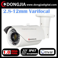DONGJIA DA-IP3108HRV 2.8-12mm varifocal outdoor 720p 1mp waterproof ip video cam streaming equipment