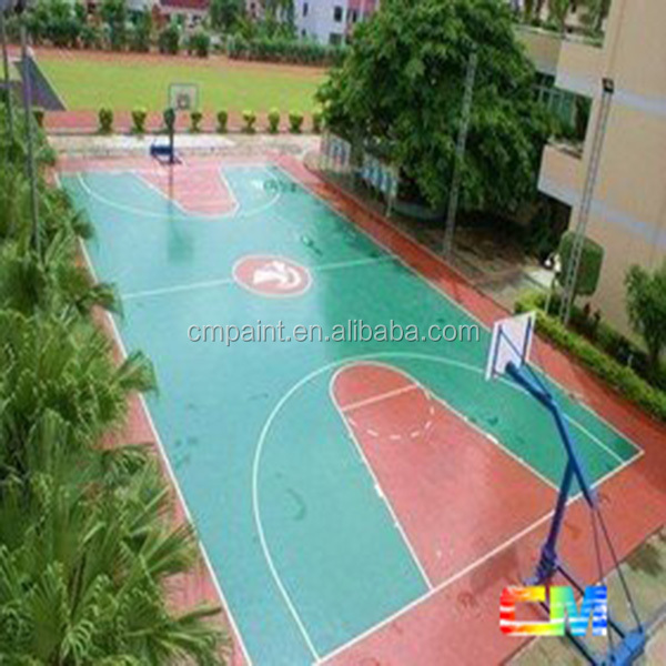 waterborne/oil-based two component Epoxy Floor Paint for Basketball Court Decoration-Paint/ Coating Manufacturer