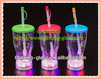 flashing led plastic cup