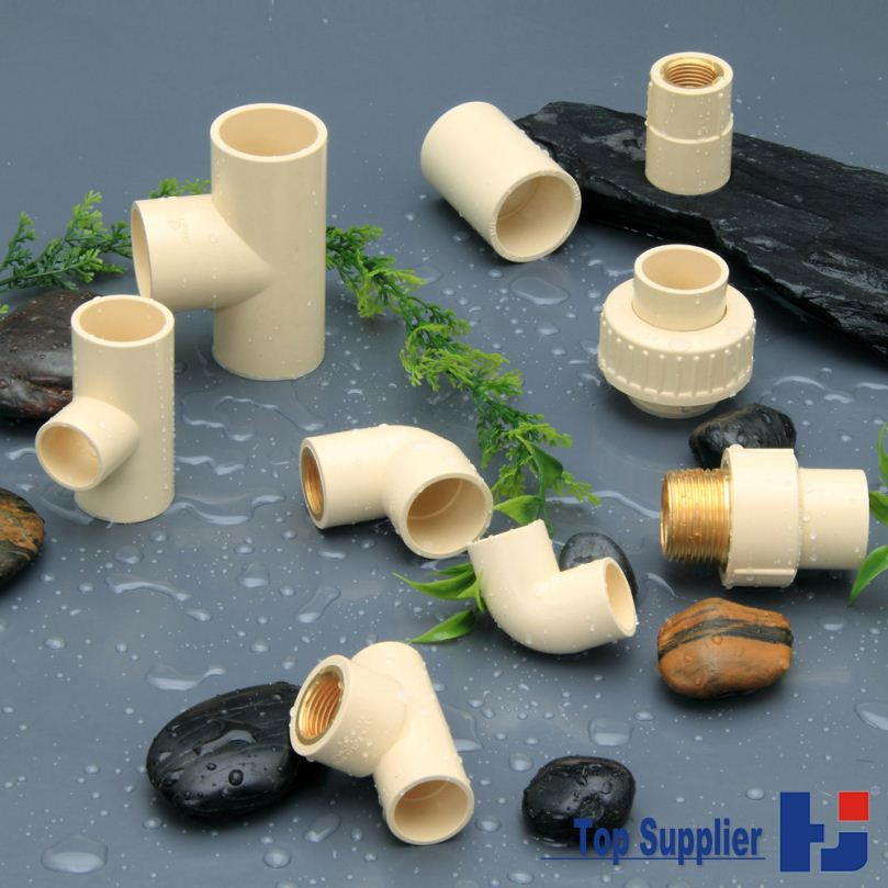 Best price good quality HJ CPVC ASTM D2846 water supply system connection pvc pipe fitting