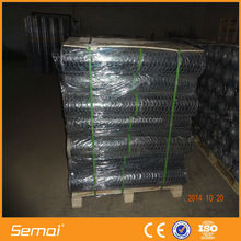 Black pvc coated galvanized double twisted hexagonal wire mesh