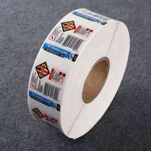 Latest products thermal transfer label tickets