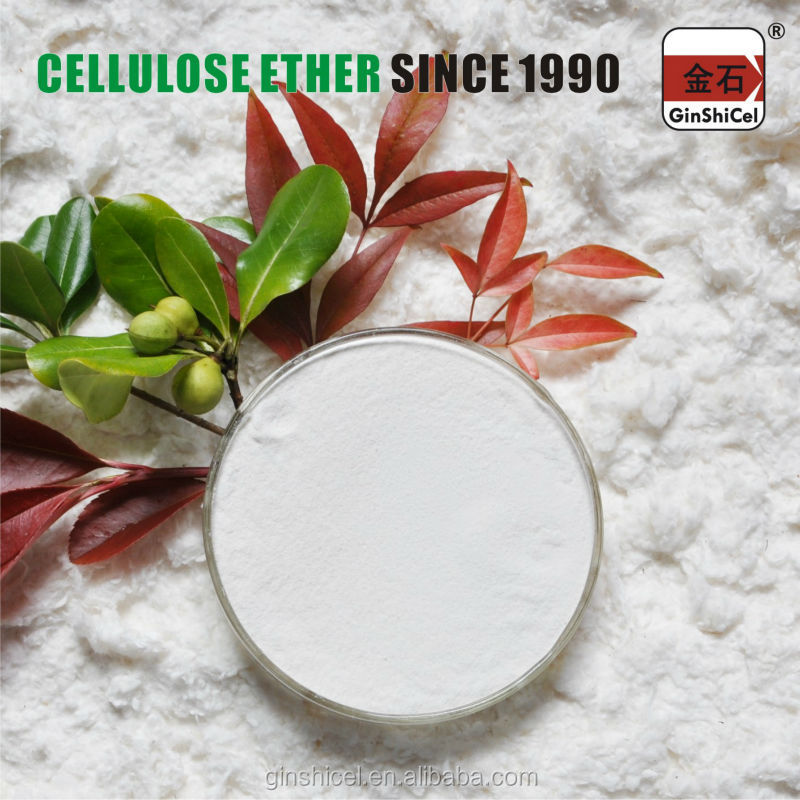 Skim coatings/wall putty/tile adhesive additives GinShiCel modified HPMC manufacturer