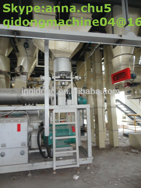 7 t / h Floating fish feed extruder machine