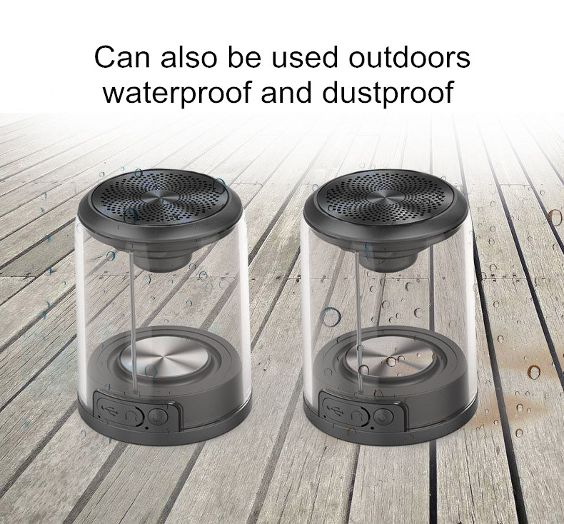 2019 Amazon Best Sales Electronics Consumer Gift LED Bluetooths Wireless Mini Outdoor Sport Magnetic Speaker