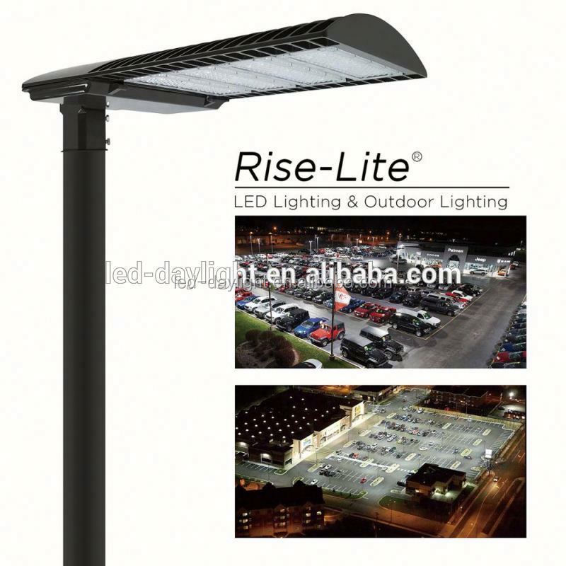 CE ROHS UL DLC qualified new construction/retroit applications Post-Top Adjustable shoe box lightings 320w to replace 1000W MH