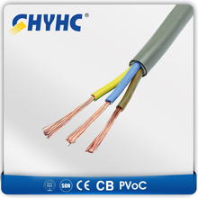 H07VV-F/H05VV-F/H03VV-F PVC Insulation and sheath round flexible cable