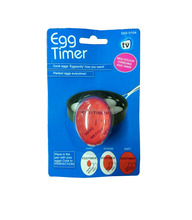 Hot sell amazing temperature controlled colour changing egg timer egg shape kitchen timer