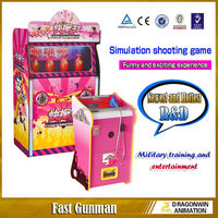 2015 newly double guns DARDONWIN animation japanese sega arcade coin operated used flight simulator for sale