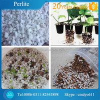 Expanded perlite growing meida in agriculture